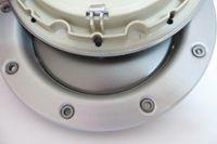عالية الجودة 4 قطعة / الوحدة الفضة abs + سبيكة 146 ملليمتر حافة غطاء العجلة مركز محور قبعات السيارات يغطي لأودي tt كواترو عجلة مركز المحور كاب