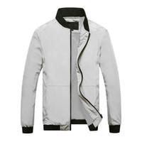 Casual Ceketler Bahar Kış Ceket Erkekler Spor Motosiklet Erkek Ince Slim Fit Bombacı Ceketler Erkek Marka Giyim için Zarif