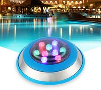JML Sıcak Satış Paslanmaz Çelik Sualtı Aydınlatma 24 V 9 W IP68 RGB Beyaz Sıcak Beyaz LED Yüzme Havuzu Işıkları kullanımda güvenli