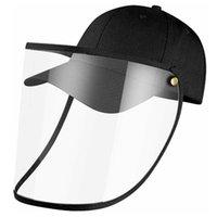 방패 방패 안티 타액 면화 야구 스냅 백 캡 방진 방지 방지 모자 여름 거리 안전 야외 일광욕
