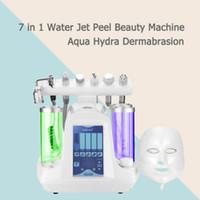 Máquina Facial Hydra 7 Em 1 RF Elétrica Refrigerante Oxigênio Dermoabrasão Máquina Para A Limpeza Do Rejuvenescimento Da Pele