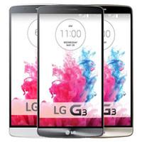 Yenilenmiş Orijinal LG G3 D850 D855 4G LTE 5.5 inç Quad Core 2/3 GB RAM 16 / 32GB ROM 13 MP Kilidi Android Akıllı Telefon DHL 5adet