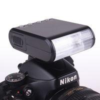 Portátil Mini Digital Slave Flash Speedlite Flash con zapato caliente universal GN18 para Canon Nikon Pentax Sony