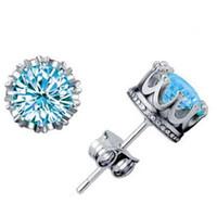 Brincos do parafuso prisioneiro para meninas moda jóias presentes cubic zirconia rodada mulheres homens 925 prata esterlina zircão cristal diamante charme brincos studs