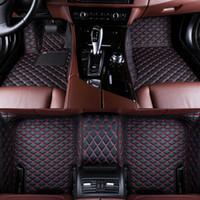 Kundenspezifische Auto-Fußmatten für Cadillac ATS ATSLXTS CT6 SLS XT5 CT6 SRX CTS Escalade-Auto wasserdichte Teppichmatten Anti-Rutsch-Auto-Styling