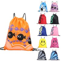 Waterproof Swimming Backpack Double Layer Drawstring Sport B...