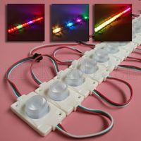 5V WS2811 5050 RGB LED Modulo Light Strip Striscia nastro 1LED Addreable Magic Color Change Injection Laterale VEIW Emittenti Segno impermeabile