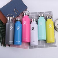 Stainless Steel Sport Bottle 18oz Water Bottle Double Wall V...