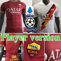 2019 2020 Player version Roma home away Soccer Jersey 19 20 ...