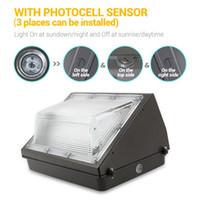ETL 6000 K 100 W LED Duvar paketi Dış Aydınlatma HPS / HID Yedek Duvar Işık Ticari Konut Işıkları