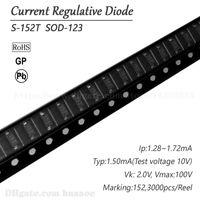 S-152T Текущий 1.28-1.72ma, центральное значение 1,5 мА СОД-123 SMD ток диода регулятивная, применяются к датчикам, приборов, машинного оборудования