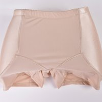 Modelo de Shafer das Mulheres Plus Size Acolchoado Lifter Shaper Mulheres Butt Hip Enhancer Sexy Seamless Hipbone Calcinhas
