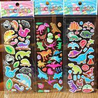 Promosyon Hediye 20pcs / Paketi Notebook İleti Karikatür Çıkartma Danışma Duvar Dekoratif Hayvan 3D Sticker Çocuk Odaları Karikatür Çıkartma DH0926