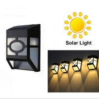 LED Solar Wall Lights Outdoor Waterproof Solar Security Ligh...