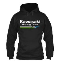Fashion Team Motorcycle Race Clothing Kawasaki Knight Hoodie...