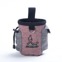 Haustier Hund Oxford bewegliche Haustier-Trainings-Tasche Kleine Puppy Training Bag Outdoor-Feed Lebensmittel Snack Müll Hüfttasche