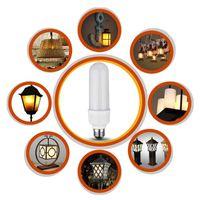4Model E27 LED brennendes Licht Flicker Flamme Weihnachten Lampen-Birnen-Fire Effect