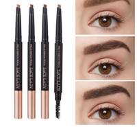 Lápis de sobrancelha Maquiagem Profissional Eye Brow Pen Marca Up Tint sobrancelha impermeável pintura sombra natural marca de cosméticos