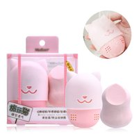 Travel Makeup Sponge Holder Kit Soft Silicone Beauty Powder ...