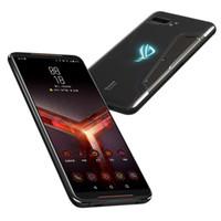 """الأصلي آسوس روج 2 4 جرام lte الهاتف الخليوي الألعاب 12 جيجابايت RAM 1TB ROM Snapdragon 855 Plus Octa Core Android 6.59 """"شاشة 48MP AI NFC 6000MAH معرف بصمات الأصابع وجه الهاتف المحمول الذكية"""