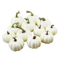 1 комплект мини белого моделирования тыквенная мода Halloween пена DIY ремеслостивальные принадлежности