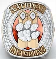 2018 2019 Clemson Tigers Final NCAA National Championship Ring Fan Hombres Regalo Venta al por mayor Envío de la gota