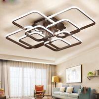 الثريا الحديثة قاد مع جهاز التحكم عن بعد أضواء الاكريليك لغرفة نوم غرفة المعيشة الرئيسية ثريا سقف بقيادة أضواء