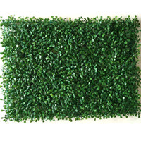 Artificial Green Grass Square Lawn Plant Home Wall Decor Pla...