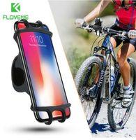 FLOVEME Bisiklet Telefon Tutucu iPhone Samsung Için Evrensel Cep Cep Telefonu Tutucu Bisiklet Gidon Klip GPS Montaj Braketi Standı