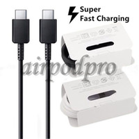 100% Original Note 10 USB Type C to TypeC Cable for Samsung Note 10 Support PD QC3. 0 Quick Charge for Type-C Devices
