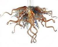La nueva llegada pendiente moderna de las luces hecha a mano la lámpara de cristal soplado CE Estilo Certificado UL arte lámpara de cristal barato
