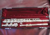 الفلوت الأصلي 311 النيكل تصفيح 16 حفرة حفرة مغلقة flauta C تناغم مع E رئيسيا مهنة مبتدئين آلة وترية مع الملحقات