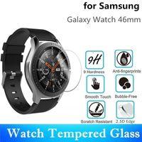 10pcs vetro temperato per Samsung Galaxy Watch 46 millimetri rotondo SmartWatch protezione dello schermo diametro 33,5 millimetri pellicola protettiva