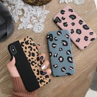 Luxury Leopard Print IMD Phone Case For iPhone 11 Pro Max X ...