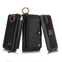 For iPhone 11 Pro Max Multi- functional fashion zipper Wallet...