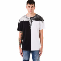 Marcelo Burlon Brand Fashion Men' s T- shirt 3D Black- and...