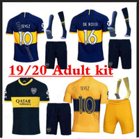2019 2020 Boca Juniors Adult kit+ socks soccer Jersey Home Aw...