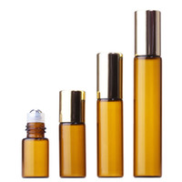 Factory Price Amber Glass Roll On Bottles 3ml 5ml 10ml Empty...