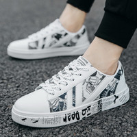 2019 Spring and Autumn Men' s casual shoes low help wint...