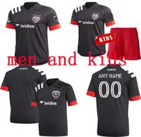 20 21 DC United Kids Soccer Jerseys 2020 D C Home Gressel 31 Flores 10 Ariola 7 Kamara 9 MLS Jersey Camicie da calcio