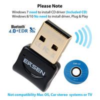 محول Bluetooth USB Dongle Adapter و Transmitter Bluetooth والاستقبال لنظام التشغيل Windows 10/8 / 7 / Vista - التوصيل والتشغيل على الفوز 8 وما فوق