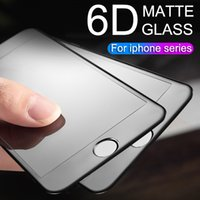 6D Full Coverage Protective Glass for IPhone 6 7 6S 8 Plus X...