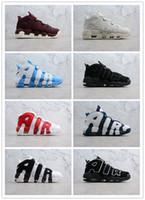 quite nice 5f67a 7b46e Zapatos de baloncesto 3M Uptempo QS Olímpico Varsity Maroon Scottie para  hombre zapatillas de deporte casuales