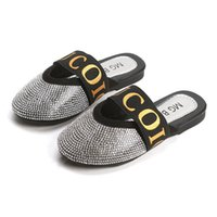 2019 new crystal Girls Slippers Fashion Kids Sandals kids sh...