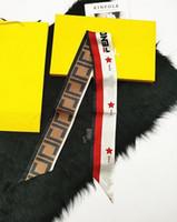 F Designer de marque super doux ruban de soie multi-fonctionnel mode de mode de luxe de luxe de luxe nœud papillon sac à main libre