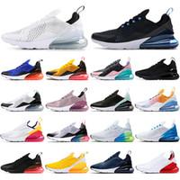 max 270 react YENİ DOĞRU Unisex yastığı 27c IŞIK KEMİK Lacivert spor ayakkabısı Erkek Eğitmenler koşu ayakkabıları nefes alan dış tasarımcılar tepki BE US5.5-11