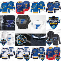 St. Louis Blues 2020 All-Star 91 Vladimir Tarasenko David Perron 27 Alex Pietrangelo Ryan O'Reilly Brayden Schenn Binnington Blais Jersey