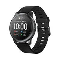 Xiaomi Youpin Original Haylou Solar LS05 relógio inteligente do metal do esporte Caso Rodada Heart Rate Monitor sono IP68 Waterproof 30 Battery Dia