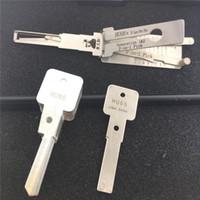 100 ٪ الأصل Lishi HU66 v.3 ل VW قفل اختيار أداة الأقفال أداة التلقائي قفل السيارة اختيار أدوات مجموعة