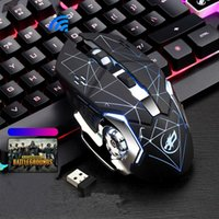 2020 Newest Wireless Mouse Glowing Gaming Mouse with Optical...